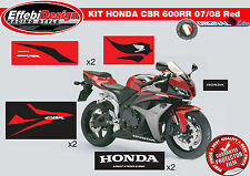 Adesivi/Stickers KIT HONDA CBR 600 RR 07 11 RED ALTA QUALITA' ! TOP QUALITY !