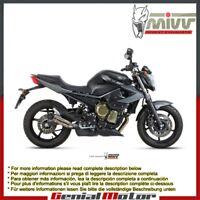 Terminale Scarico MIVV Double Gun Titanio Yamaha Xj6 Xj6 Diversion 2009 > 2016