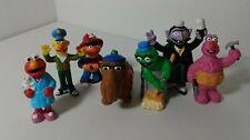 Sesame Street 3 Inch Vinyl Oscar, Elmo, Bert and more Figures Lot