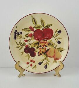 "New Oneida Tuscan Harvest Hand Painted Earthenware Dinner Plate 9.5"""
