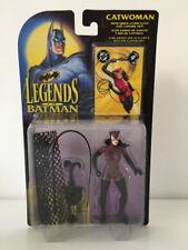 Leyendas de Batman Catwoman Figura De Acción Moc Vintage Kenner Toys-libre de Reino Unido P&p