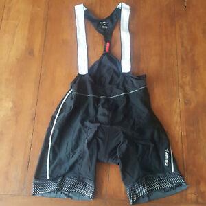Craft Womens XXL Cycling Bibshorts Compression Shorts Bib 2XL Black Adjustable