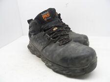Timberland Men's Pro Ridgework Comp Toe Safety Work Boots Black Size 10W
