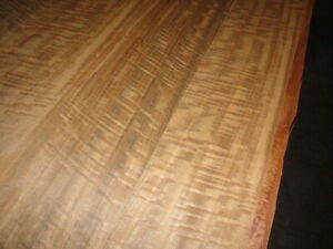 QUARTERED FIGURED FUMED EUCALYPTUS 4' X 8'  10 MIL PAPER BACKED VENEER SHEET.