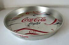 VASSOIO COCA-COLA LIGHT IN LATTA - ANNI 80/90 VINTAGE
