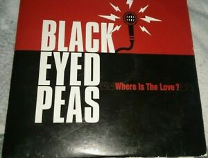 rare CD Single Promo Collector 1T The Black Eyed Peas - Where Is The Love? 2003