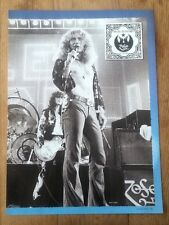 More details for robert plant 'zoso' magazine photo/poster/clipping 11x8 inches