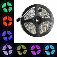 5M 16.4ft 12v SMD RGB 5050 IP65 Waterproof 300 LED Flexible Tape Strip Light