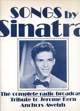 FRANK SINATRA tribute to jerome Kern complete radio broadcasts EX+ LP