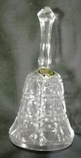 Woolbro Elegant Glass Bell 13 cm High x 6.5 cm Base Diameter