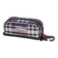 Titleist Japan Golf Round Ball Case Pouch Bag 2016 Model w/Hook AJBC62 Navy