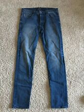 Scotch and Soda Mens Ralston Blue Jeans size 31x32