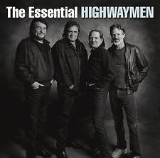 The Essential Highwaymen 2CD Willie Nelson Johnny Cash Kris Kristofferson NEW