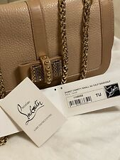 Christian Louboutin Sweet Charity Bag in Nude / Beige *AUTHENTIC*