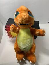 "Nintendo Pokemon Charmander massive 15"" Plush 1999 Stuffed Toy vtg rare w/ tag"