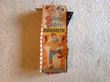 1950's Vintage Original Howdy Doody Marionette with BOX. Peter Puppet Playthings