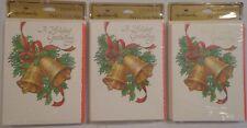 Hallmark Christmas Party Invitations A Holiday Gathering x24 Vintage Nos 3x8 Usa