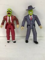 The Mask 1994 2 Action Figures New Line Products Hasbro Jim Carrey