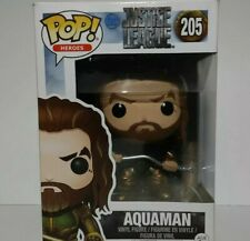 Funko Pop! Heroes Aquaman #205 Dc Justice League Vinyl Figure