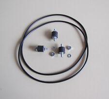 Wurlitzer 3200, 3210, 3300, 3310 Turntable Motor Mounts & Belts