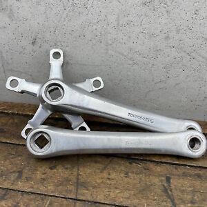 Vintage Crank Set Takagi Tourney GS 170mm Touring MTB 110 74 BCD