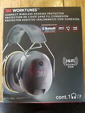 3M Worktunes Wireless Hearing Protector - Black Bluetooth - 90543 NEW Headphones