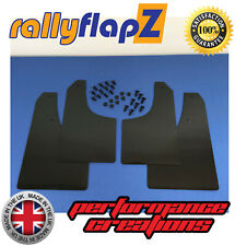 Mud Flaps to fit FORD FOCUS MK2 ST225 RallyflapZ Mudflaps Black 4mm PVC Qty 4