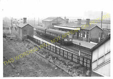 Radford Railway Station Photo. Nottingham to Basford and Trowell Lines. (2)