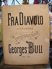 Partitura Fra Diavolo Georges Bull para Piano