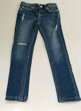 7 Of Mankind Skinny Girls 6X Distressed 5 Pocket Jeans
