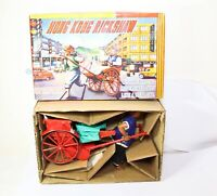 PMC Toys Hong Kong Rickshaw Battery Operated In Its Original Box - Excellent