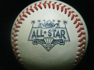 Game Used 2016 All Star Game California/Carolina League Baseball