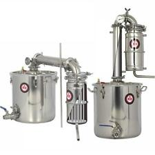 18 Gal/70 L Moonshine Still Home Essential Oil Brew Water Wine Alcohol Distiller