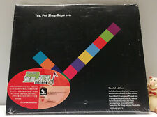Deluxe 2 CD Pet Shop Boys YES ETC. 7 Bonus Tr. Special Edition Hong Kong Charity