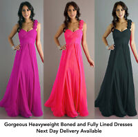 Long floor length bridesmaid dress, cocktail, ball gown sizes 8,10,12,14,16,18