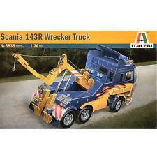 Italeri 3838 Camión Scania 143R wreaker 1/24 escala kit plástico modelo