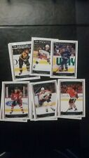2017-18 upper deck o-pee-chee glossy blue complete set 01-10
