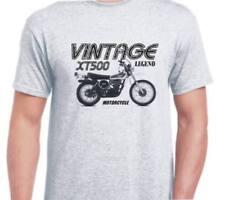 Yamaha XT500 76 inspired vintage motorcycle classic bike shirt tshirt