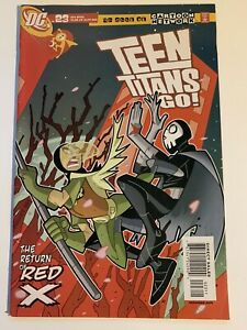 TEEN TITANS GO #23 (2003) 1ST APPEARANCE OF RED X IN COMICS FUTURE STATE RARE