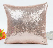 Christmas Sequins Pillow Case Throw Cushion Cover Home Pillowcase Decor Gift New
