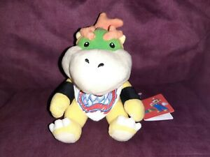 OFFICIAL NEW Sanei Little Buddy Super Mario BOWSER JR. Plush Toy UK 2011 SML