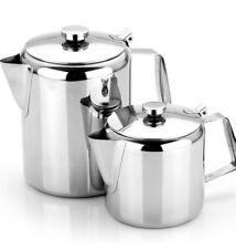 Stainless Steel Tea Pot Coffee Pot 3L 2L 1.5L 1L 0.6L 0.3L Mirror Finish Boxed