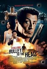 BULLET TO THE HEAD ORIGINAL 27x40 MOVIE POSTER (2012) STALLONE & MOMOA