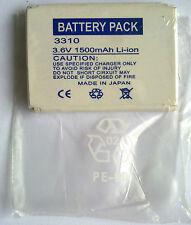 BATTERY PACK 3310 0001 Li-ion 3.6V 1500mAh MADE IN JAPAN