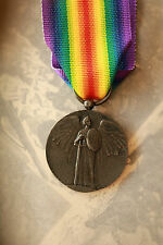 WW1 ARMY MILITARY 1st FRENCH VICTORY MEDAL WORLD WAR ONE GRAND GUERRE