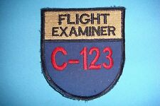 VIETNAM WAR PATCH, USAF C-123  FLIGHT EXAMINER  311th AIR COMMAND SQUADRON