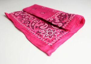 Mandala Printed Cotton Bandana Scarf