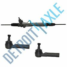 Rack and Pinion + 2 New Outer Tie Rod for Chrysler Town & Country Dodge Caravan