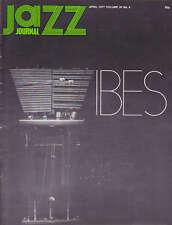 JAZZ JOURNAL MAGAZINE 1977 APR BENNY BAILEY BAILEY, CHARLIE MINGUS, JAZZ VIBES