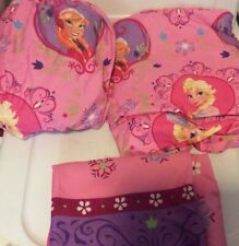 Disney Frozen Anna Elsa Twin Size Bed Sheet Set Pillowcase 3 Pc
